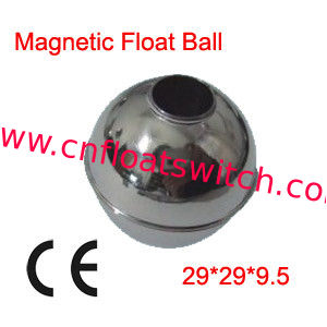 100x 29X29X9.5mm Stainless Steel Magnetic Floating Ball in switch