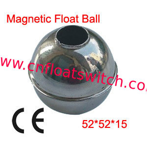 52X52X15mm Round Large Magnetic Stainless Steel 304 Float Ball