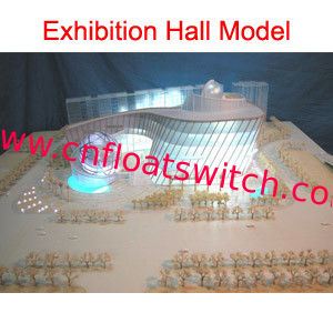 Exhibition hall model 012