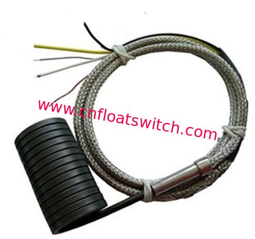 Spring coil Heater 4*2mm JN-CH7 250W with K/J thermcouple Fiberglass wire