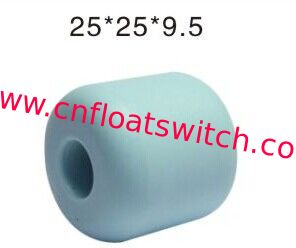PP Magnetic float ball 25*25*9.5mm Blue color