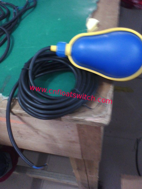 High Quality for New Float Switch JN-M15-8 with 5M Rubber cable in sewage water pump